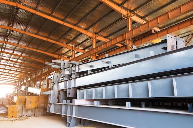 Large steel processing plant