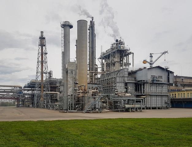 석유화학 플랜트의 대용량 작업장