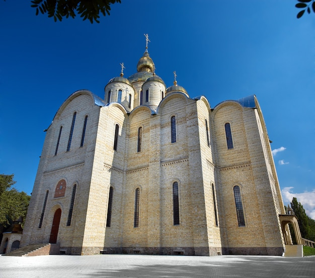 The largest in ukraine orthodox st. archangel michael's cathedral situated in cherkassy city.