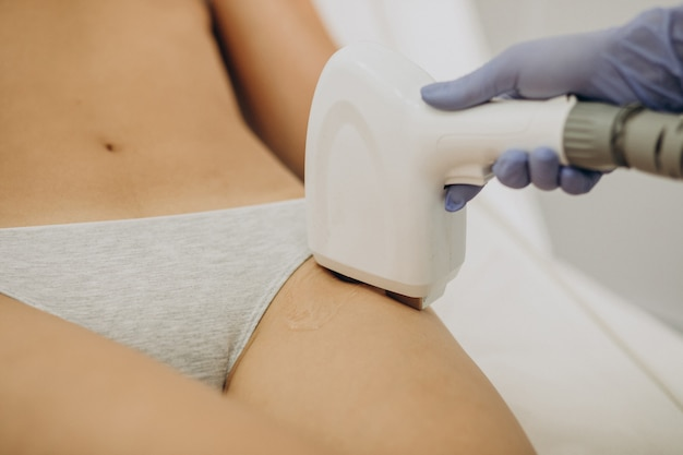 Laser epilation, hair removal therapy
