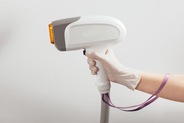 Laser hair removal epilator