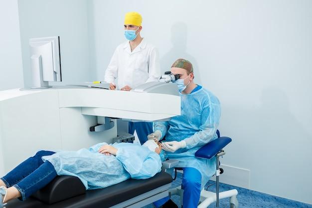 Лазерная коррекция зрения. лечение глаукомы. медицинские технологии в глазной хирургии.