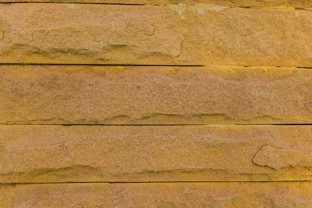 Laterite stone wall surface with cement