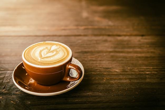 Кофейная чашка latte