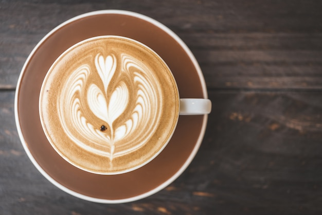 Чашка чашки latte