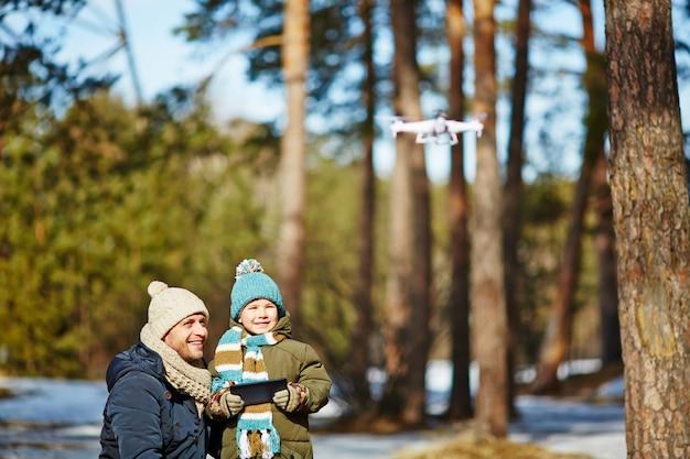 Launching drone