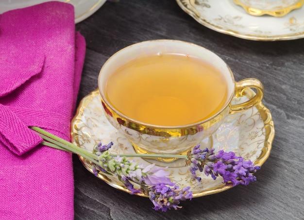 Lavender flavored tea