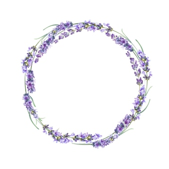The lavender wreath.