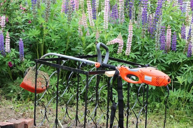 Lawn mower garden summer spring