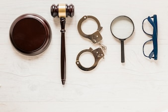Lawyer desk