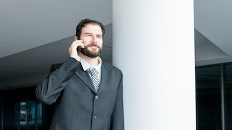 Lawyer tallking
