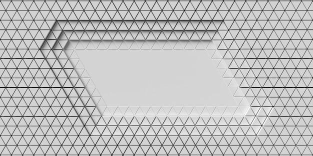 多角形の幾何学的形状のレイヤー上面図