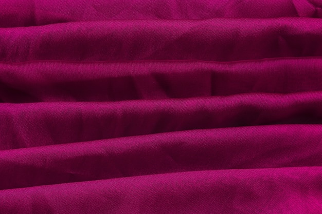 Layers of violet fabric