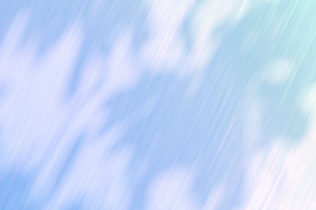 セメントの背景イラストの葉の影