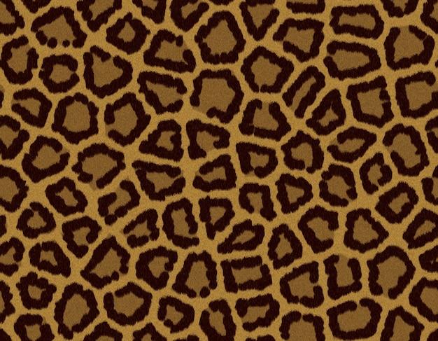 Бесшовные фона плитка с leaopard меховой текстурой