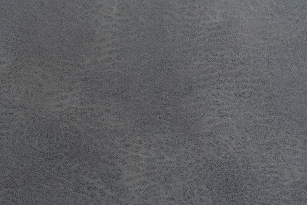 Leather black background and abstract, detail of gray leather background