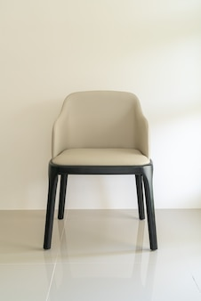Leather dining seat chair