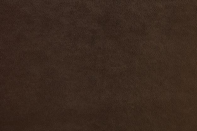 革の質感の背景ダークブラウン色