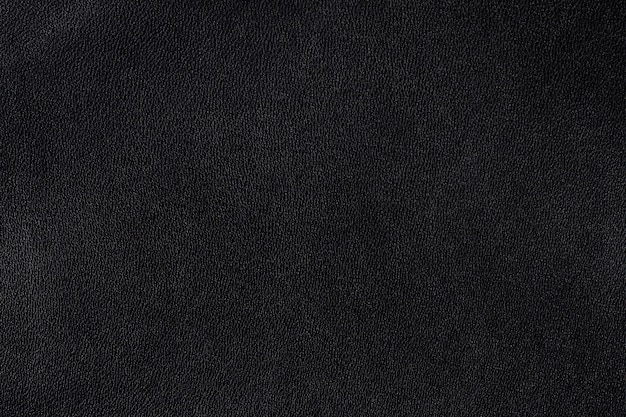 革の質感の黒い背景、壁紙の水平、