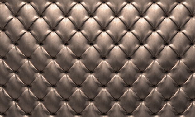 Leather tufted background