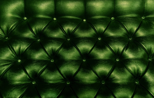 Leather upholstery green st patrick saint background sofa light shadow