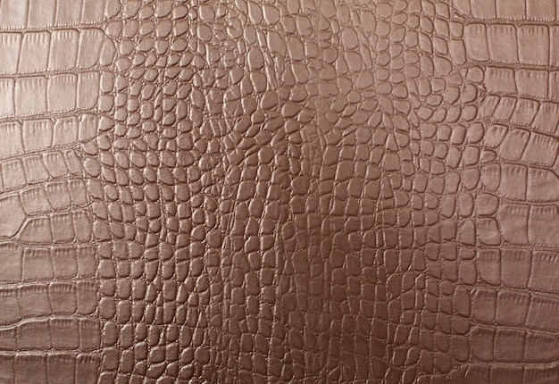Leather with crocodile skin pattern background