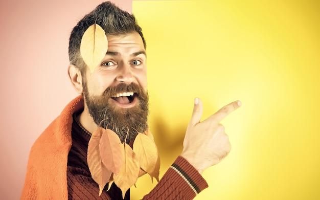 Leaves at barber and hairdresser