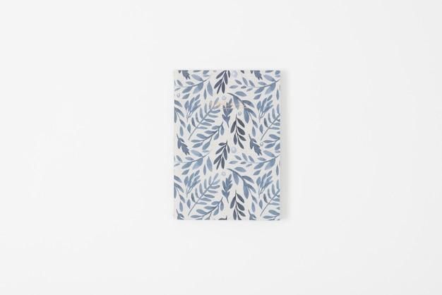 Leaves printed copybook