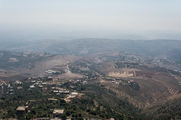 Lebanon mountains middle east landscape