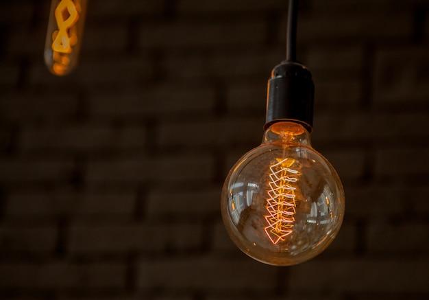 ビンテージ電球-折lect的なインテリアの照明装飾