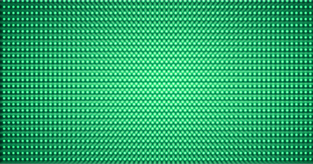 Led green cinema screen background