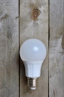 Светодиодная лампа вид сверху