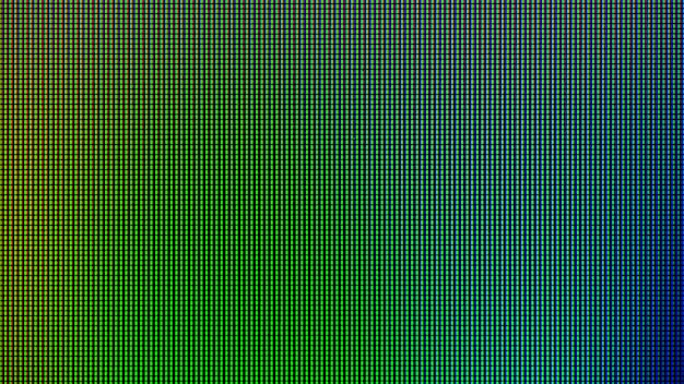 コンピュータのledモニタ画面表示パネルからledが点灯します。