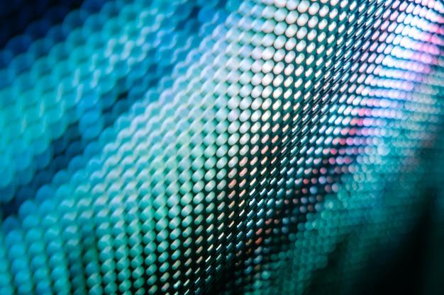 クローズアップledのぼやけた画面。 ledソフトフォーカスの背景。設計に最適な抽象的な背景。