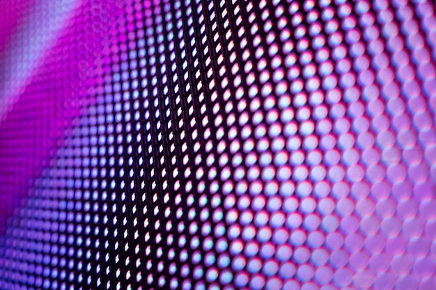 クローズアップledぼやけた画面。 ledソフトフォーカスの背景。