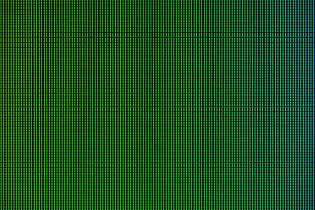 Led lights from computer led monitor screen display panel.