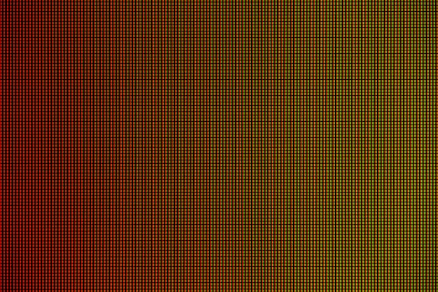 Led lights from led computer monitor screen displayesign