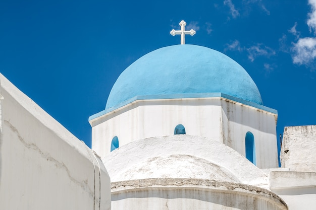 Lefkes church in paros, greece