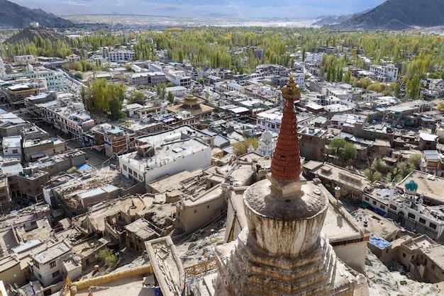 Leh ladakhの街の風景