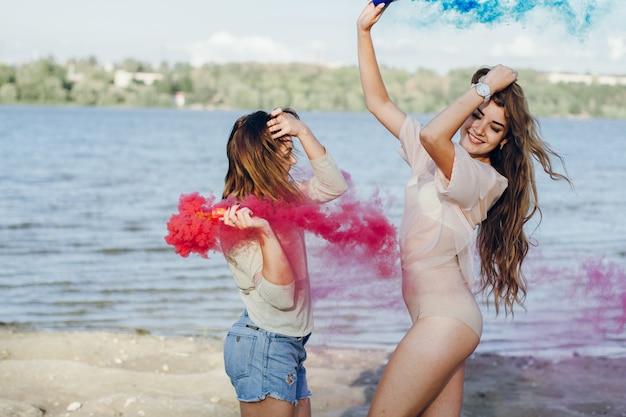 Leisure girls fashion modern clothes