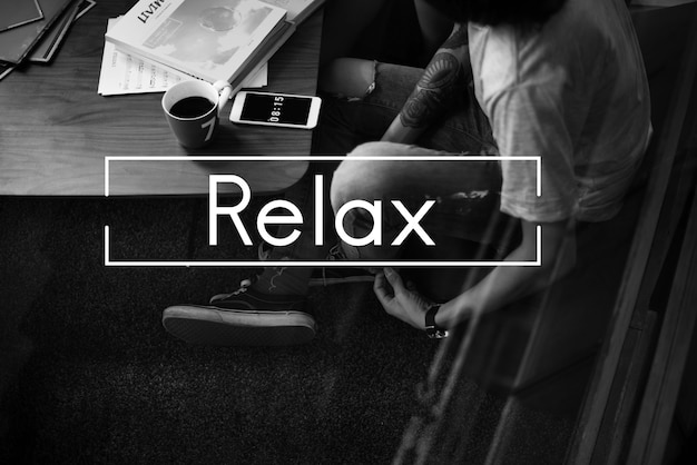 Leisure relaxation chill rest icon