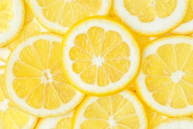 Лимонный фруктовый узор, еда фон. прямо над