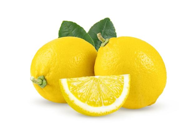 分離されたレモン