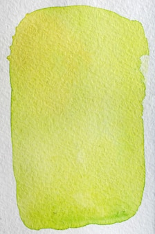 Lemon, lime, pear, yellow, green fresh bright hand drawn abstract watercolor background. space for text, lettering, copy. postcard template.