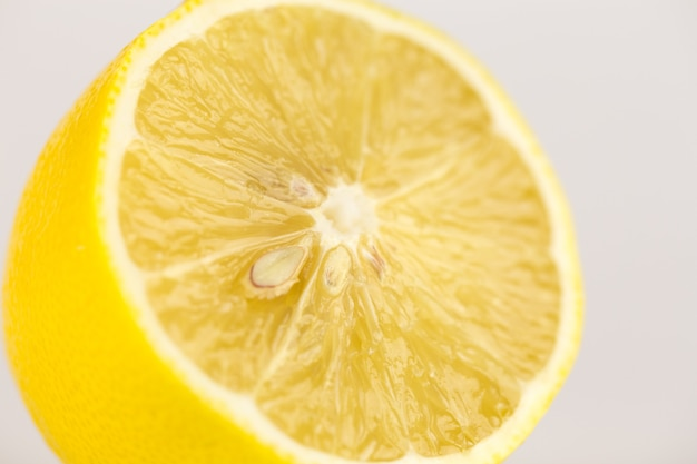 Лимонный макро фото