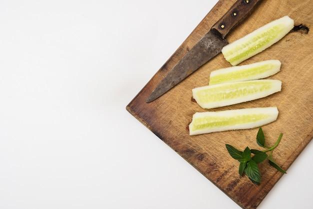 Lemon slices for drink