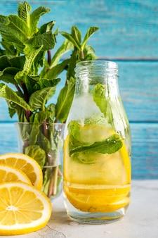 Lemonade still life for summer