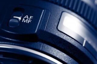 Lens macro  stock