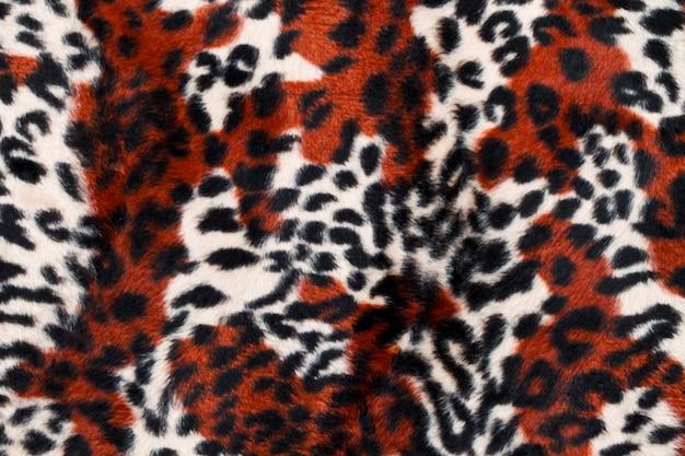 Leopard skin pattern background