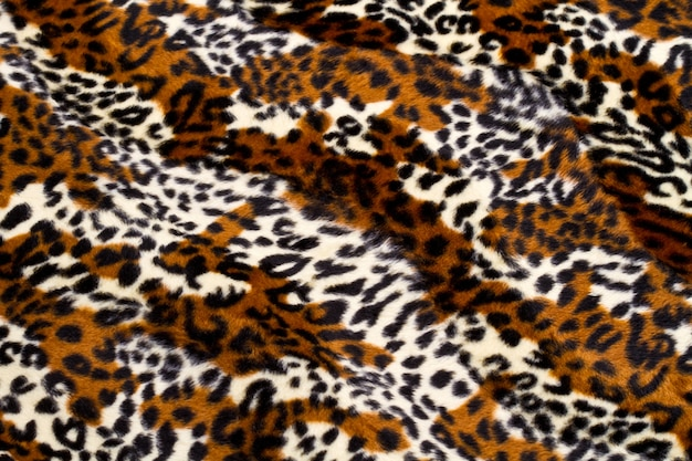 Leopard skin pattern background